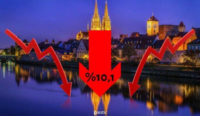 Almanya Ekonomisi 2Ç20'de %10,1 ile Rekor Düzeyde Küçüldü