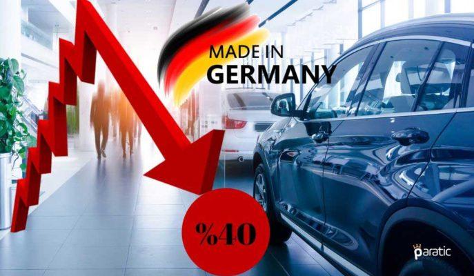 Almanya'da Otomobil Satışları Son 31 Yılın En Düşüğüne Geriledi