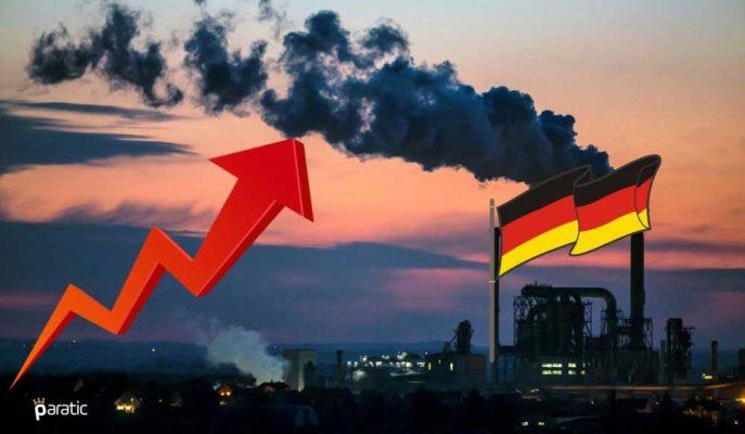 Almanya Sanayi Üretimi Beklenenden Az Artsa da Toparlanmaya Dair İyimserlik Yükseldi