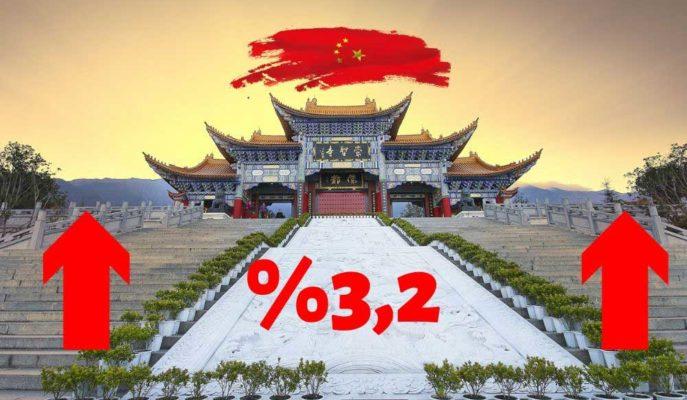Çin GSYİH'si 2Ç20'de Beklentiyi Aşarak %3,2 Büyüdü