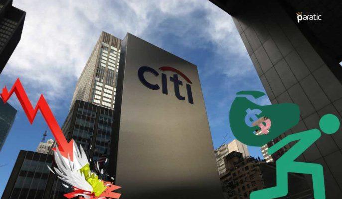 Citigroup'un 2Ç20'de Net Karı Pandemi Etkisiyle %73 Azaldı