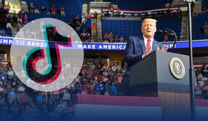 Donald Trump Sosyal Medyada TikTok Karşıtı Reklam ve Anket Paylaştı