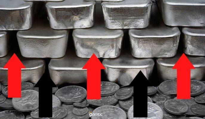 Emtia Fiyatlarındaki Yükseliş Hızlanırken, Gümüş 21 Doları Aştı