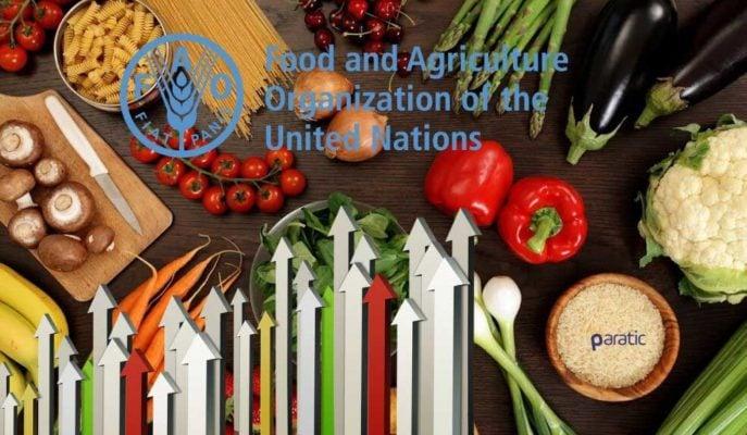 93,2'ye Yükselen FAO Gıda Fiyat Endeksi Sene Başından Bu Yana İlk Kez Arttı