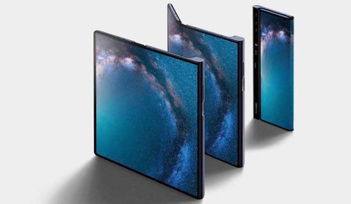 Huawei'den Galaxy Z Flip ve Motorola Razr Benzeri Telefon Geliyor