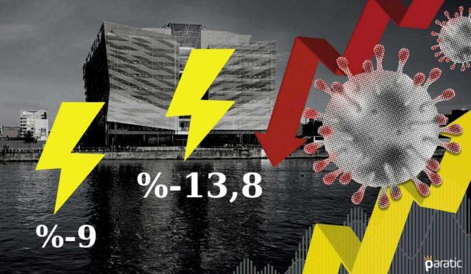 İrlanda MB: İkinci Dalga GSYİH'yi 2020'de %14'e Kadar Düşürebilir
