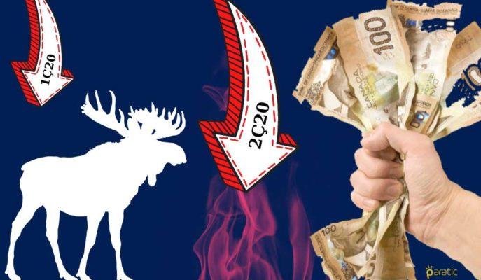 Kanada GSYİH'si İkinci Çeyrekte %40'la Rekor Düşüş Kaydedecek
