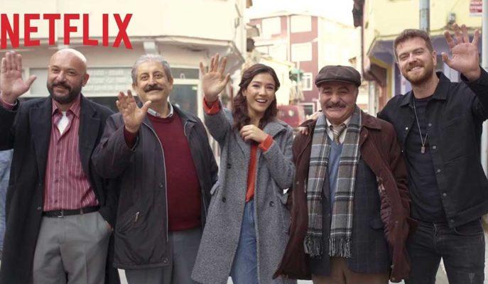 Netflix'in Burak Aksak İmzalı Dizisi 50M2 için Geri Sayım Başladı