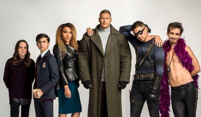 Netflix'in Sevilen Dizisi The Umbrella Academy'nin 2. Sezonu için Geri Sayım Başladı