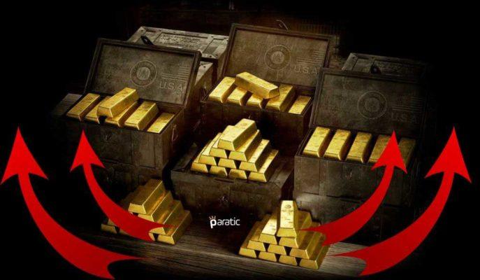 Altının Onsu 1800 Dolar, Gramı 400 TL Üstündeki Rekor Yolculuğunu Sürdürüyor