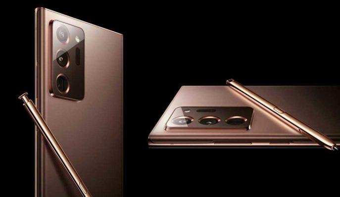 Samsung'un Galaxy Note 20 Ultra'nın Canlı Görüntüsü Sızdırıldı