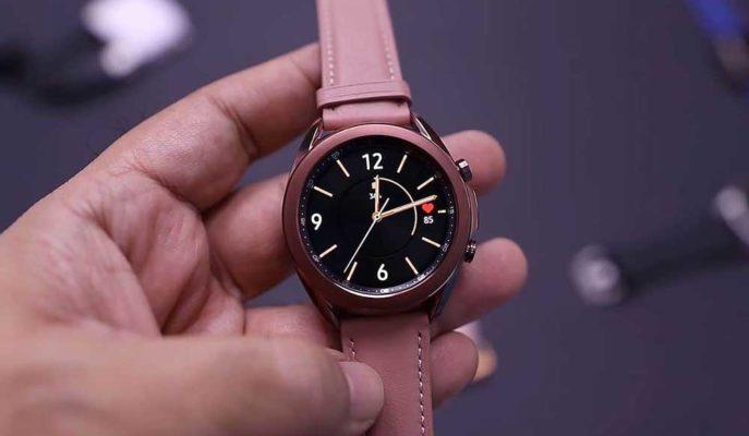 Samsung Galaxy Watch 3 Tanıtılmadan Önce Kutusundan Çıktı