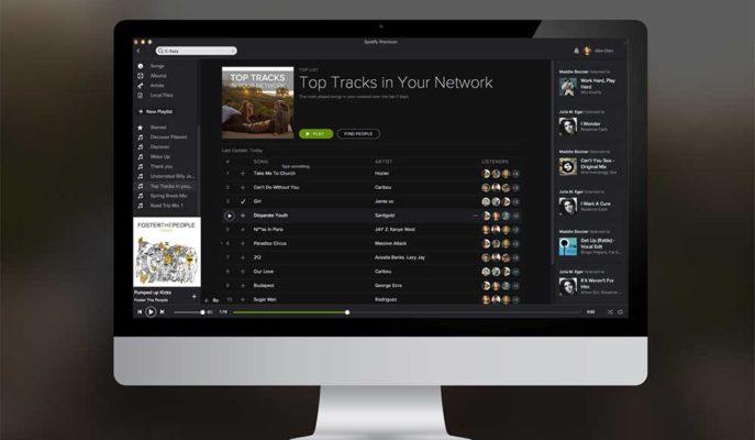 Spotify Masaüstü Uygulamasını Web Arayüzü ile Benzer Hale Getiriyor