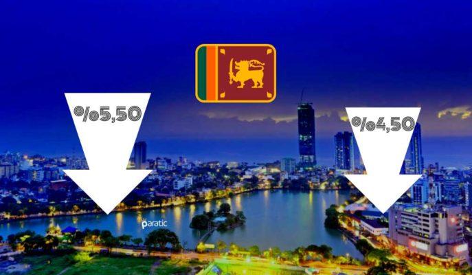 Sri Lanka MB, Ekonomisini Desteklemek için 2 Kilit Faiz Oranında İndirim Yaptı