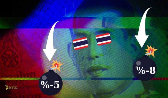 Tayland Ekonomisi için Düşüş Tahmini %5-%8 Aralığına Yükseltildi