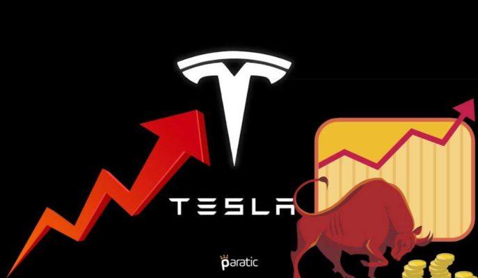 Tesla Hisseleri Art Arda Gelen Başarıların Ardından Rekor Kırdı