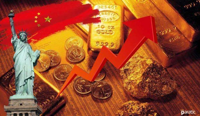 ABD-Çin Gerilimi Altını Yeniden 2000 Doların Üzerine Taşıdı