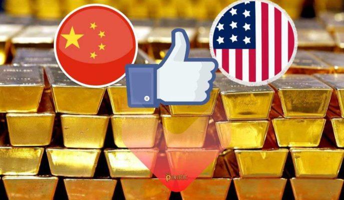 ABD ile Çin Arasında Yapılan Görüşmenin Olumlu Geçmesi Altın Fiyatlarını Baskıladı