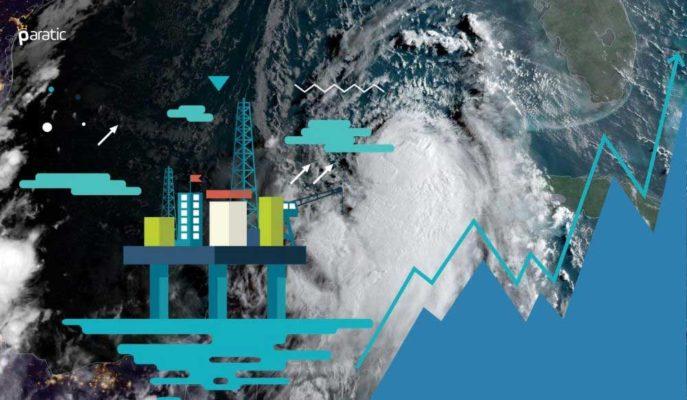 ABD'deki Kasırga Nedeniyle Üretim Dururken, Petrol Yükselişe Geçti