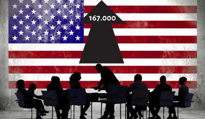 ABD Özel Sektör İstihdamı Temmuz'da 167 Bin Yükseldi