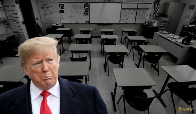 ABD'de Okulların Açılmaması Toparlanmayı Kötü Etkileyecek