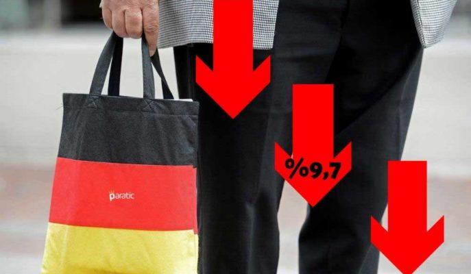 Almanya Ekonomisi İkinci Okumaya Göre %9,7 Oranında Küçüldü