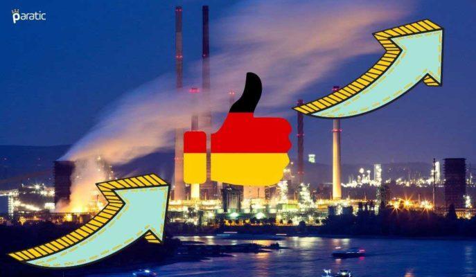 Almanya'da Fabrika Siparişleri Haziran'da %27,9 ile Güçlü Yükseldi