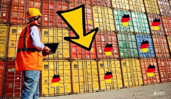 Almanya'da Sanayi İhracat Beklenti Endeksi Ağustos'ta 2,4 Puan Geriledi