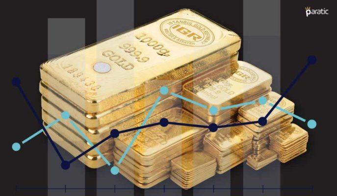 Altın ABD Endekslerinin Rekorla Kapanmasının Ardından Geriledi