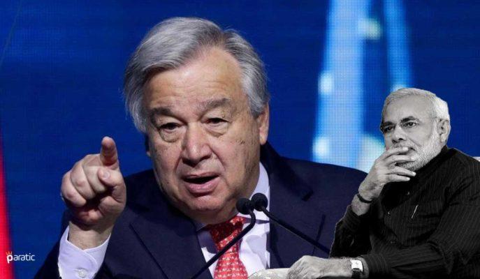 BM/Guterres, Hindistan'ı Hızla Kömürden Uzaklaşmaya Çağırdı