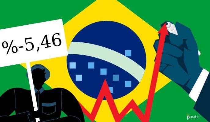 Brezilyalı Analistler 2020 GSYİH Düşüşü için Daha İyimser