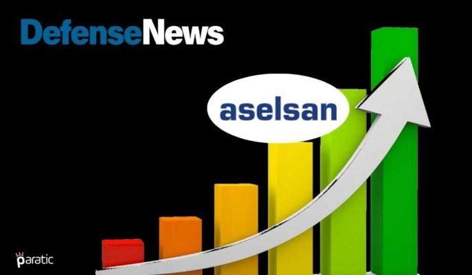 Defense News Top 100'de Basamak Atlayan Aselsan'ın Hisseleri Yükselişte