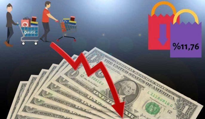 Dolar, %11,76 ile Beklenti Altında Gelen TÜFE Sonrası 6,92'ye Geriledi