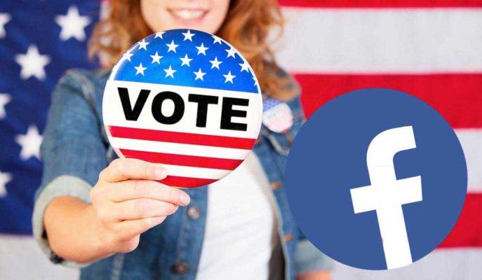 Facebook ABD Seçimleri Öncesi Seçim Bilgi Merkezi'ni Kullanıma Sundu