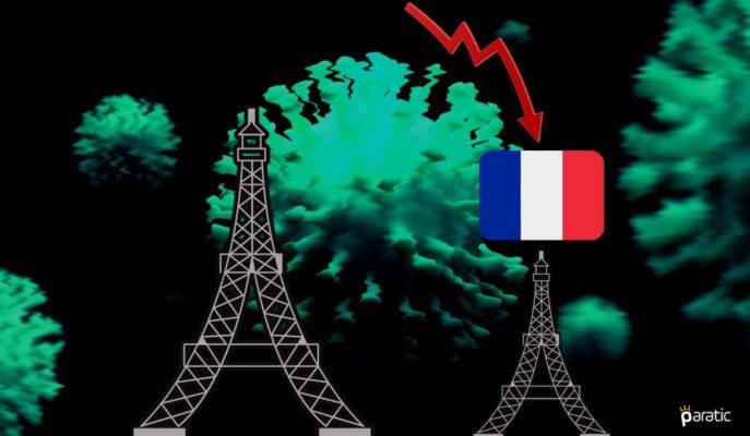 Fransız Ekonomisi Temmuz'da Normal Seviyenin %7 Altında
