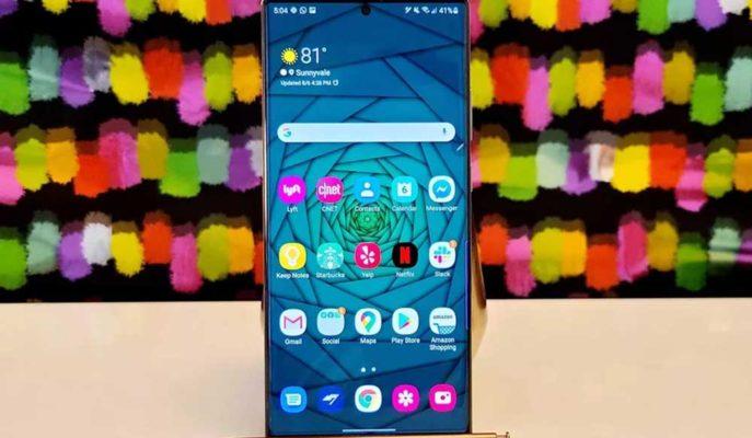 Yeni Tanıtılan Galaxy Note 20 Ultra Dayanıklılık Testinde Görüntülendi