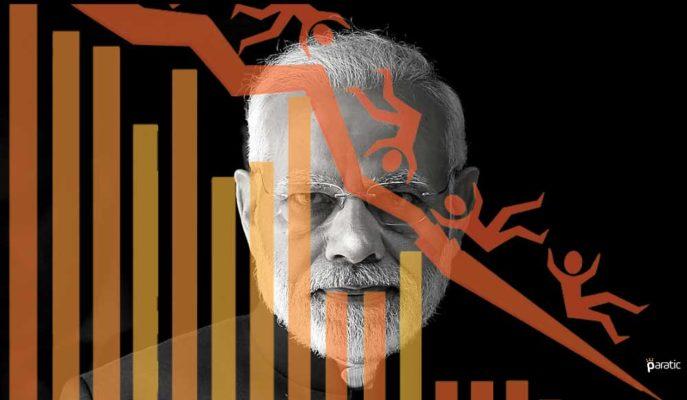 Hindistan GSYİH'si %23,9 Gerilemeyle En Keskin Düşüşünü Kaydetti