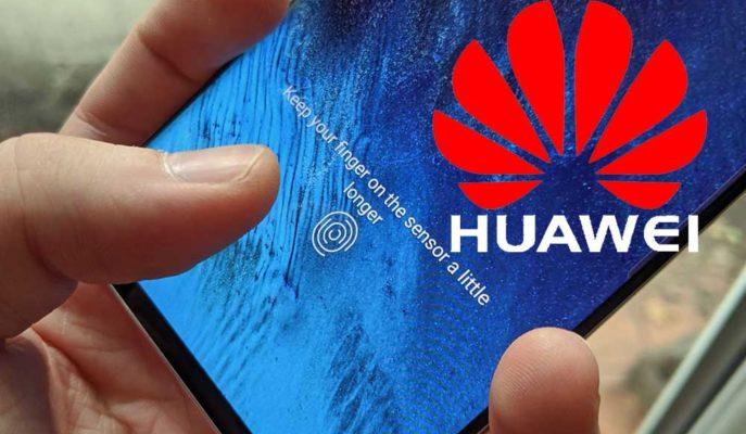 Huawei Akıllı Telefonlarda Parmak İzi Korumasını Ekranın Tamamına Getirebilir