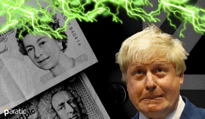İngiltere Ekonomisi %20,4'lük Rekor Düşüşle Resesyona Girdi