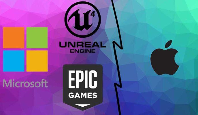 Microsoft, Epic Games'e Apple ile Olan Davasında Destek Veriyor