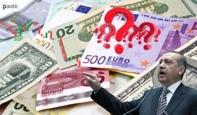 Piyasalar Cumhurbaşkanı'nın Müjdesini Beklerken Dolar ve Euro Düşüşte