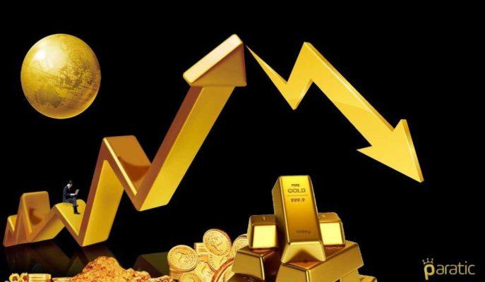 Rekorlara Ara Veren Altının Onsu 1984 Dolara, Gramı 464 Liraya Geriledi