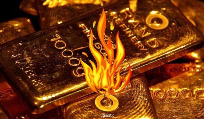 Ons Altın 1994 Dolar, Gram 446 Lira ile Bir Kez Daha Rekor Tazeledi
