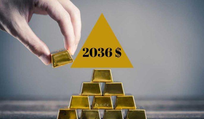 Altının Ons Fiyatı 2036 Dolarla Tüm Zamanların En Yükseğine Çıktı