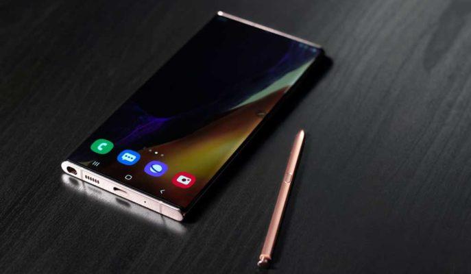 Samsung Galaxy Note 20 Ultra Ekranı Kullanıcıyı Rahatsız Edecek Bir Sorunla Gündeme Geldi