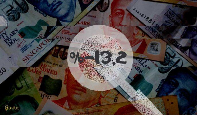 Singapur Ekonomisinin 2Ç20'deki Düşüşü %13,2'ye Revize Edildi