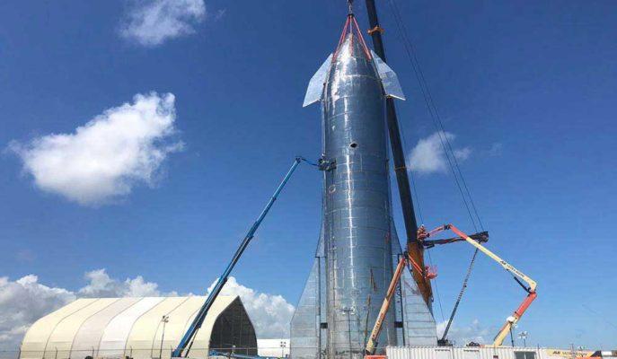 SpaceX'in Mars ve Ay Hayalini Gerçekleştirecek Starship Roketi Böyle Test Edildi