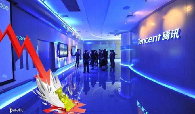 ABD'nin Yasağı Tencent'in Piyasa Değerini 66 Milyar Dolar Azalttı