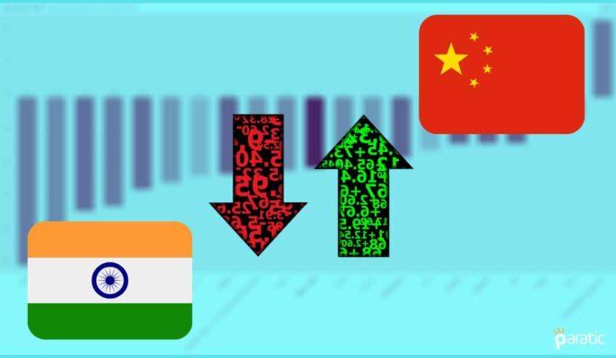 2Ç20 GSYİH'sinde OECD'nin En İyisi Çin, En Kötüsü Hindistan Oldu