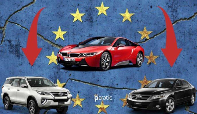 AB'de Otomobil Satışları Ağustos'ta Yeniden İvme Kaybederek %18,9 Geriledi